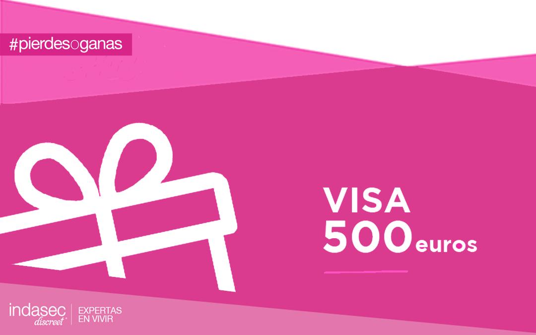 GANA UNA VISA DE 500€ POR SER  UNA EXPERTA EN VIVIR